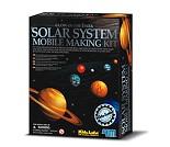 Solarsystem Mobile Kit byggesett 42x42 cm