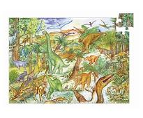 Puslespill med dinosaurer - Djeco