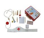 Sykepleierkoffert med utstyr