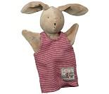 Hånddukke, kaninen Sylvain