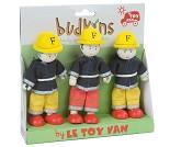 Brannmenn, figurer i tre fra Le Toy Van