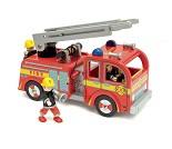 Brannbil med stige i tre - Le Toy Van