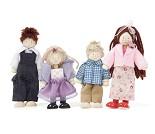 Dukkehusfamilie, fire dukker - Le Toy Van