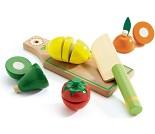 Sett med frukt og grønt i tre - Djeco