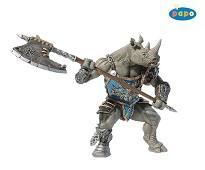 Rhinomannen miniatyrfigur - Papo