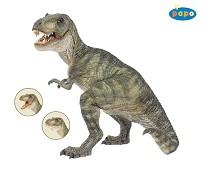 Tyrannosaurus Rex miniatyrfigur - Papo