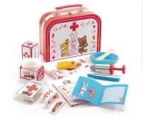 Legekoffert med doktorutstyr - Djeco