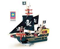 Barbarossas sjørøverskip i tre - Le Toy Van
