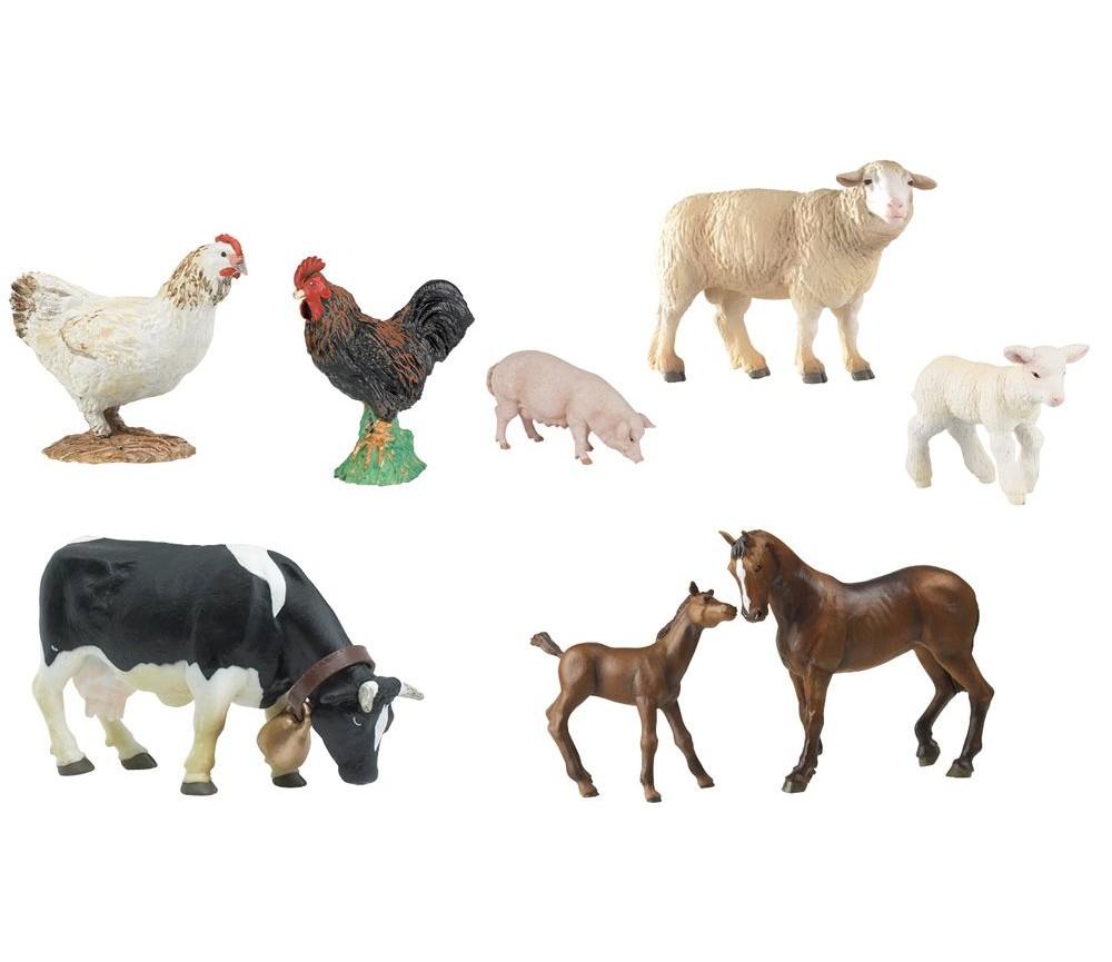 Pakke med bondegårdsdyr | Sprell - veldig fine leker og barneromsinteriør