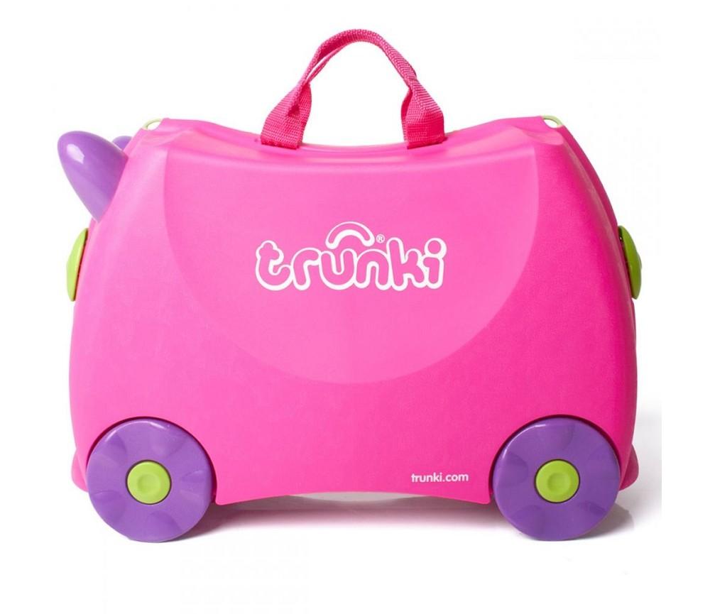 Trillekoffert barn rosa Trunki Sprell veldig fine leker og barneromsinterior