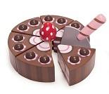 Sjokoladekake, lekemat i tre - Le Toy Van