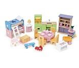 Startsett med møbler til dukkehus fra Le Toy Van