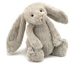 Beige kanin, kosedyr 31 cm - Jellycat