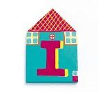 Trebokstaver, Little house letters, I