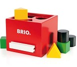 Rød putteboks -  BRIO