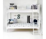 Seaside hvit køyeseng fra Oliver Furniture