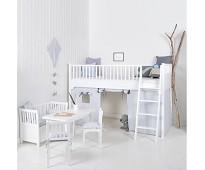 Forheng til seaside-seng, blå, Oliver Furniture