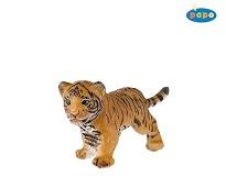 Tigerunge miniatyrfigur - Papo