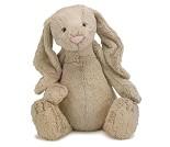 Beige kanin, 51 cm - kosedyr fra Jellycat