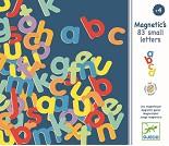 Magneter, 83 bokstaver i tre, minuskler - Djeco