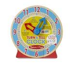 Treklokke, lær klokken