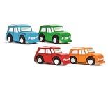 Lekebil i tre fra Le Toy Van, 4 valg