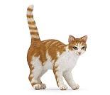 Bondegårds katt - Miniatyrfigur fra PAPO
