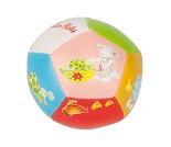 Myk ball til baby, fargrik med dyr