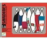 Kortspill med fjollete sardiner fra Djeco