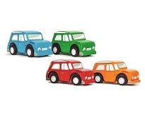 Lekebil i tre, 4 valg - Le Toy Van