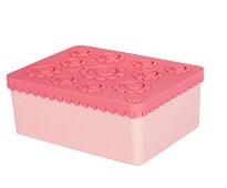 Rosa matboks med tre rom - Blafre