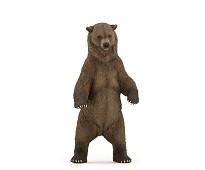 Grizzly bjørn miniatyrfigur - Papo