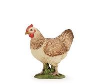 Høne miniatyrfigur - Papo