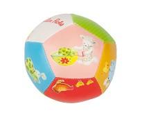 Myk ball til baby, fargerik med dyr - Moulin Roty