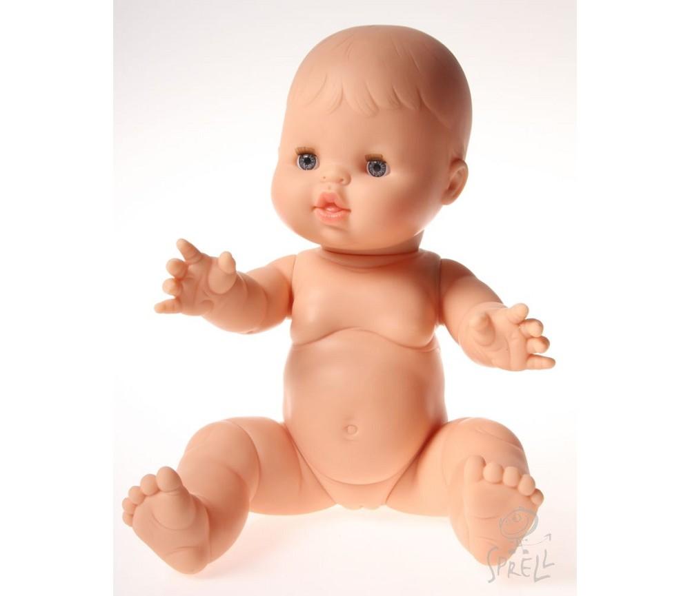 f141f66c Dukke, jentebaby uten hår, 34 cm   Sprell - veldig fine leker og  barneromsinteriør