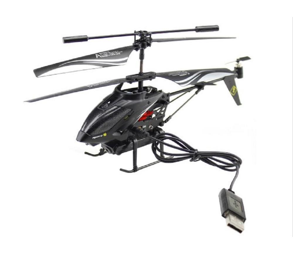 lekehelikopter med kamera