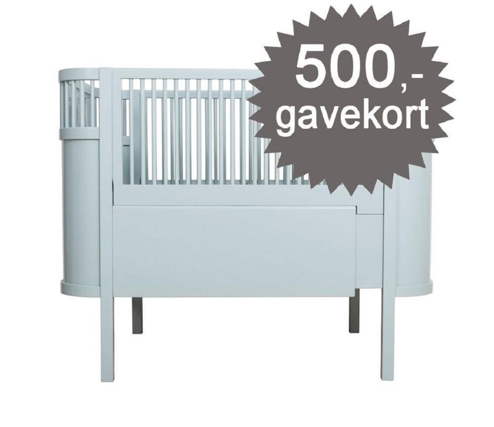 seng baby Blå pastell Kili seng fra Sebra, baby og junior | Sprell   veldig  seng baby