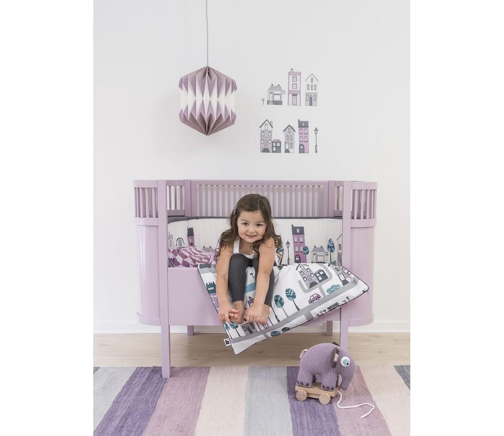 rosa pastell kili seng fra sebra baby og junior sprell veldig fine leker og barneromsinteri r. Black Bedroom Furniture Sets. Home Design Ideas