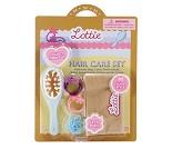 Hårbørste og hårpynt - Dukketilbehør til Lottie