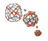 Ekspanderingsball i fargerik plast