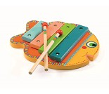 Fiskeformet xylofon, instrument - Djeco