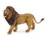 Brølende løve miniatyrfigur - Papo