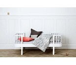Wood hvit juniorseng fra Oliver Furniture