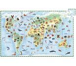 Puslespill med alle verdens dyr - Djeco