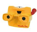 Nostalgisk 3D kamera med bilder