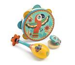 Sett med instrumenter i tre - Djeco
