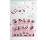 Klistremerker til negler, prinsesse - Snails