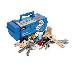 Briomec byggesett og verktøykasse fra BRIO