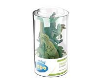 6 miniatyrfigurer, dinosaur - Papo