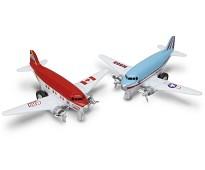 Sky liner propellfly i metall, 2 variantvalg